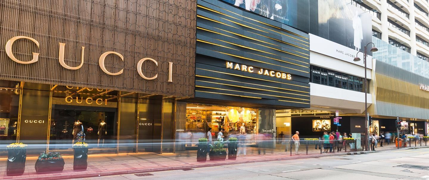 Luxury shopping Hong Kong